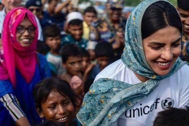 عالمی شہری ہونے کے ناطے روہنگیا بچے پوری دنیا کی ذمہ داری ہیں: پرینکا چوپڑہ