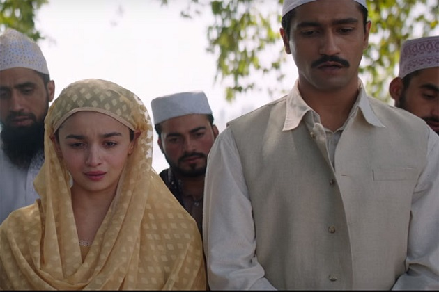 جہاں تک راضی کی بات ہے تو یہ فلم ہرندر سکا کی کتاب کالنگ پر مبنی ہے۔فلم کی کہا نی ایک کشمیری لڑکی کے ارد گرد گھومتی ہے۔جس کی شادی پاکستانی آرمی آفیسر سے کر دی جاتی ہے۔اسے پاکستان میں جاسوسی کرنے کیلئے بھیجا جاتا ہے۔