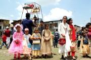 کشمیر میں بچے تیسرے دن بھی عیدالفطر کی خوشیاں مناتے نظر آئے
