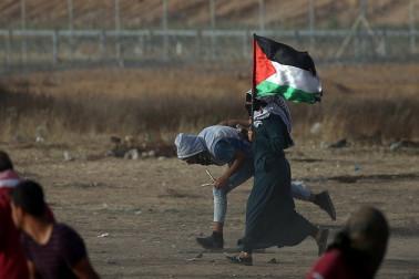 بڑی خبر: غزہ میں تشدد، 40 فلسطینی زخمی