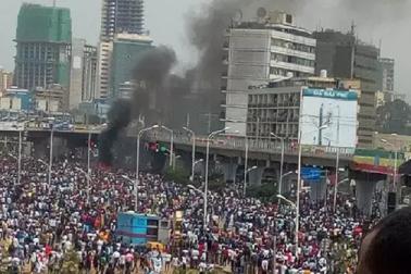 اتھوپیا میں وزیر اعظم کی ریلی میں دھماکہ،کئی لوگوں کے مارے جانے کا اندیشہ