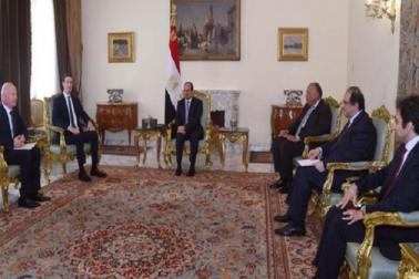 مصری صدرالسیسی کا مشرقی بیت المقدس کو فلسطین کا دارالحکومت بنانے کی حمایت