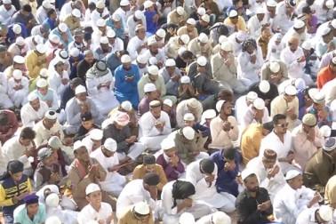 مدھیہ پردیش میں پورے جوش و خروش کے ساتھ منایا گیا عید الفطر کا تہوار