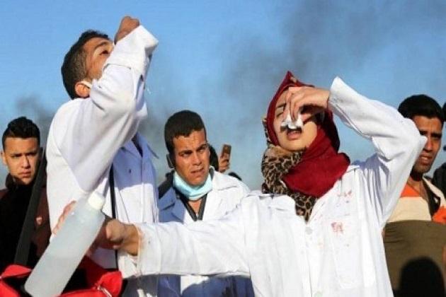 فلسطینی وزارت صحت نے ایک بیان میں بتایا کہ اسرائیلی فوج نے مشرقی غزہ میں حق واپسی کے لیے نکالے جانے والے مظاہروں پر فائرنگ اور آنسو گیس کی شیلنگ کی جس میں ایک لڑکی شہید اور 100 سے زائد مظاہرین زخمی ہوئے ہیں۔