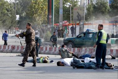 افغانستان:  اسلامک اسٹیٹ نے لی کابل خودکش بم حملہ کی ذمہ داری