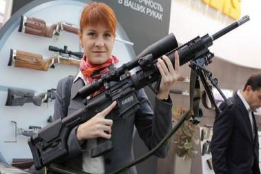 امریکہ میں روس کیلئے جاسوسی کرنے والی ماریا بوٹينا کو جیل