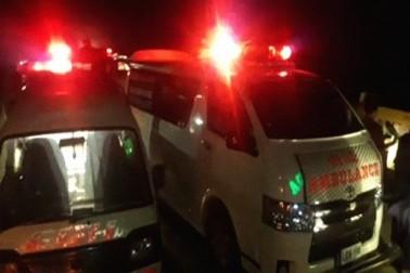 پاکستان میں بس اور ٹریلر کی شدید ٹکر ، 17 ہلاک ، 13 زخمی