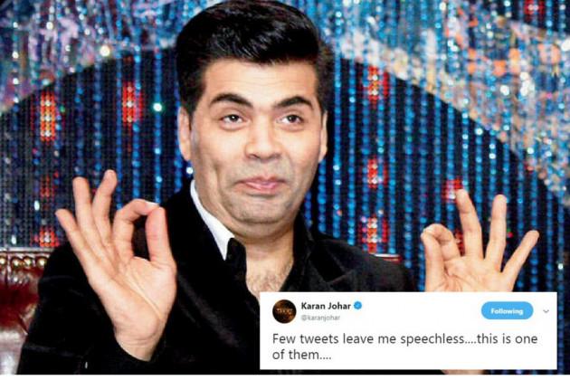 سوشل میڈیا پر سرگرم کرن نے جب یہ تصویر دیکھی تو وہ حیران رہ گئے۔ انہوں نے اسے ری ٹویٹ کرتے ہوئے لکھا، کچھ ٹویٹس مجھے کچھ کہنے لائق نہیں چھوڑتے۔ یہ ان میں سے ایک ہے۔
