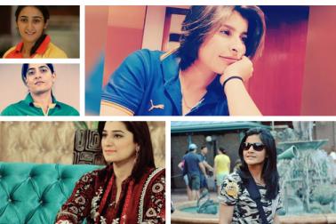 پاکستانی خواتین کرکٹ ٹیم کی کچھ خوبصورت حسینائیں