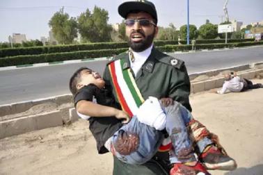 ایران میں فوج کی پریڈ پر دہشت گردانہ حملہ 8 جوانوں کی موت ، 20 سے زائد زخمی