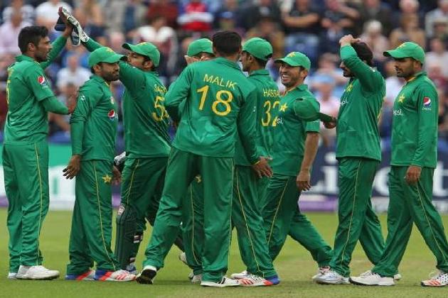 پاکستانی کرکٹ ٹیم : فائل فوٹو