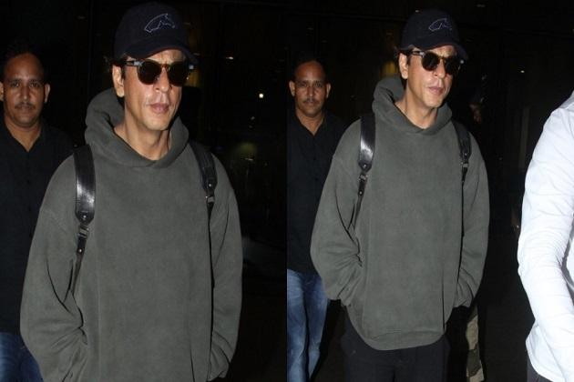 بالی ووڈ اداکار شاہ رخ خان ممبئی ایئر پورٹ پر ہوئے اسپاٹ دیکھئے کنگ خان کی بہترین تصویریں۔