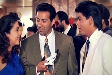 بالی ووڈ کا وہ دھوکہ جس کے بعد سنی دیول اور شاہ رخ خان نے کبھی ساتھ میںکام نہیںکیا ...۔