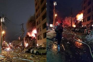 جاپان میں ریستوراں کے اندر زبردست دھماکہ، 40 افرادزخمی