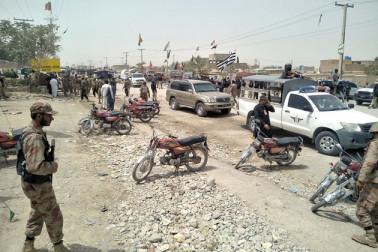 پاکستانی فوج پر خودکش حملہ میں کم از کم 9 افراد کی موت،11 زخمی
