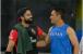 آئی پی ایل 2019: دھونی نے کھیلا وراٹ کوہلی کی 'نیند اڑانے والا شاٹ'۔ اسٹیڈیم کے باہرپہنچائی گیند