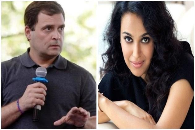 ...راہل گاندھی سے اس قدر متاثر ہوئیں سورا بھاسکر، ٹویٹ کر بولیں- شاندار طریقہ سے