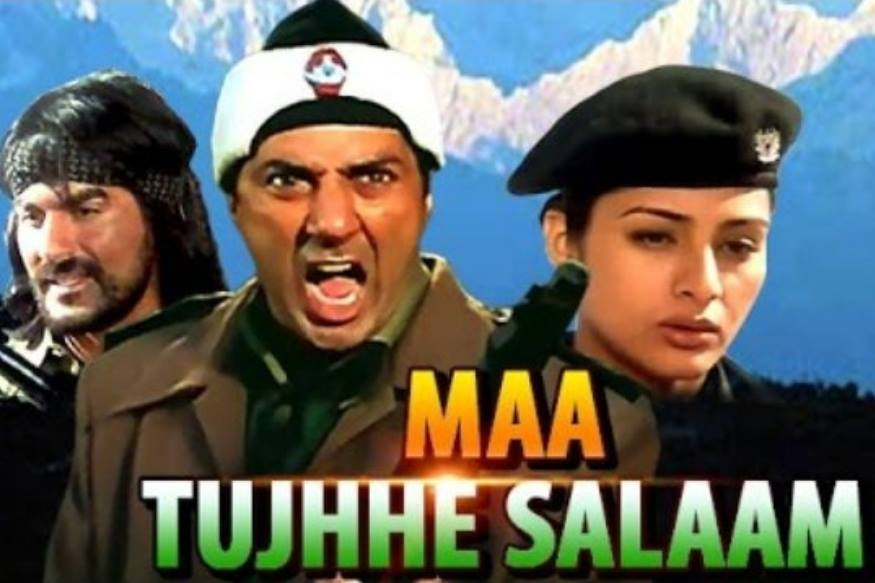 سال 2002 میں آئی فلم 'ماں تجھے سلام' جب رلیز ہوئی تو ہندستان اور پاکستان کے درمیان حالات کشیدہ تھے۔ اس فلم کا ڈائیلاگ 'دودھ مانگوگے تو کھیر دیں گے، کشمیر مانگو گے تو چیر دیں گے' ہر دیوار پر لکھا نظر آتا تھا۔