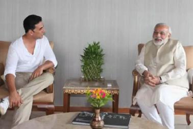 رپورٹر اکشے کمار نے پوچھا ایسا سوال کہ ہنس پڑے وزیر اعظم نریندر مودی