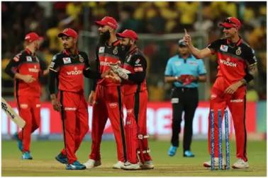 بنگلورکوبڑا جھٹکا، آئی پی ایل سے باہرہوگیا ٹیم کا 'خوش قسمت' کھلاڑی