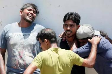 سری لنکا سریل بلاسٹ :35 غیر ملکی شہریوں کی موت ، مرنے والوں کی تعداد 215 تک پہنچی