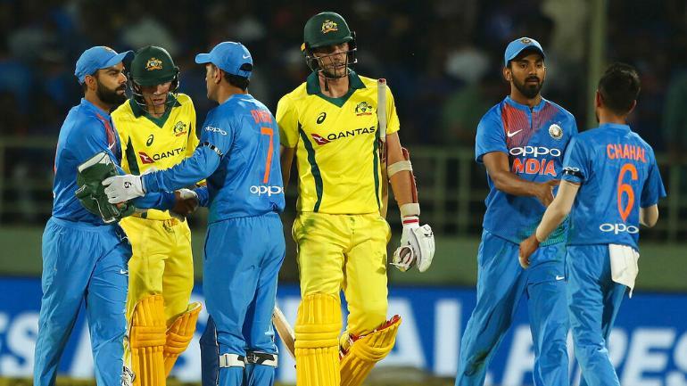 آسٹریلیائی ٹیم کرکٹ کی دنیا میں بڑی ٹیموں میں شمار کی جاتی ہے ۔ ورلڈ کپ میں ٹیم انڈیا آسٹریلیا سے صرف تین مرتبہ جیتی ہے وہیں 8 مرتبہ اس کو ہار کا سامنا کرنا پڑا ہے ۔ ( فوٹو کریڈٹ : آئی سی سی آئی ) ۔