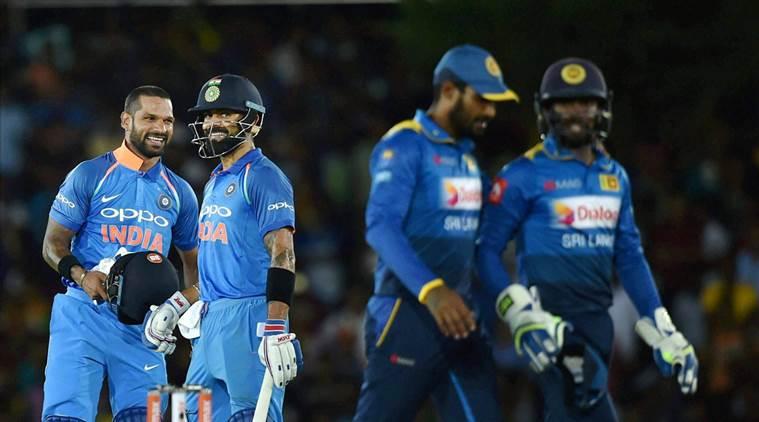 ورلڈ کپ میں سری لنکا کے خلاف ٹیم انڈیا تین میچ جیتی ہے وہیں چار میں اس کو ہار کا سامنا کرنا پڑا ہے ۔ ( فوٹو کریڈٹ : آئی سی سی آئی ) ۔