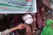 خدمت خلق ٹرسٹ انڈیا کی جانب سے غریبوں میں