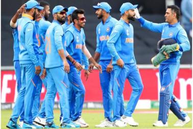 ورلڈ کپ میں ہندوستان کی پاکستان کے خلاف لگا تار ساتویں جیت ، ڈک ورتھ لوئس کے تحت 89 رنوں سے دی پٹخنی
