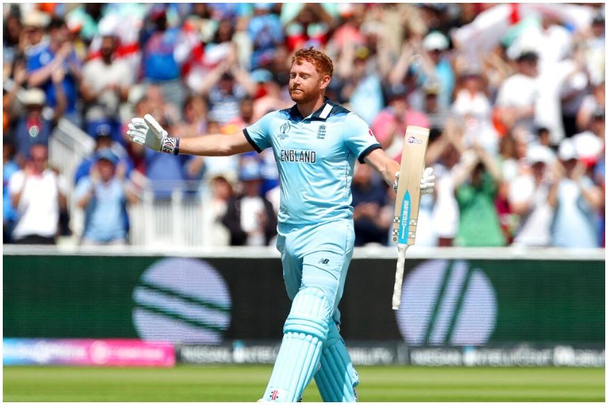 آئی سی سی کرکٹ ورلڈ کپ 2019 میں انگلینڈ کے سلامی بلے باز جانی بیرسٹو نے تاریخ رقم کردی ہے۔ بیرسٹو نے نیوزی لینڈ کے خلاف سنچری لگائی ہے۔ انہوں نے 99 گیندوں پر 106 رنوں کی اننگ کھیلی۔