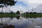 امریکہ میں سیلاب، سڑکیں ڈوب گئیں اوروہائٹ ہاوس میں گھس گیا پانی