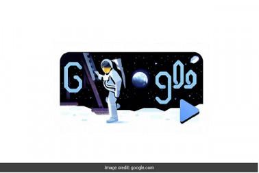 چاند پرانسان کے پہلا قدم رکھنے کی 50 ویں سالگرہ کا جشن:گوگل نے انیمیٹڈ ویڈیوڈوڈل کیالانچ