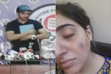 بیوی نے لگایا حمل کی حالت میں لات۔گھونسوں سے پیٹنے کا الزام، پاکستانی اداکار نے قرآن شریف پر ہاتھ رکھ کی 50 منٹ کی پریس کانفرنس