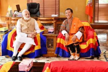 وزیراعظم مودی اوربھوٹان کے وزیراعظم کےدرمیان مذاکرات، 10 معاہدوں پرہوئے دستخط
