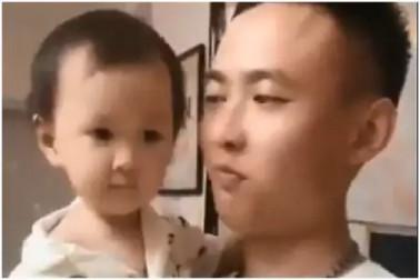 اس بچی کو نہیں کھلائی آئس کریم تو لڑکی نے باپ کے ساتھ کر ڈالا یہ کام: ویڈیو وائرل