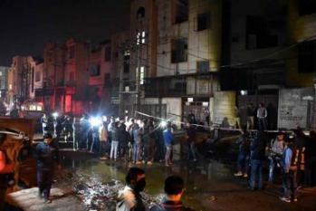 بوانا آتش زدگی : ویڈیو میں کھسر پھسر کرتی نظر آئی بی جے پی لیڈر : فیکٹری کی لائسنسنگ ہمارے پاس ہے