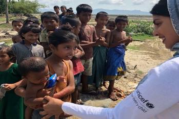 بالی ووڈ اداکارہ پرینکا چوپڑا کی روہنگیا بچوں کے لئے فنڈ جمع کرنے کی جذباتی اپیل
