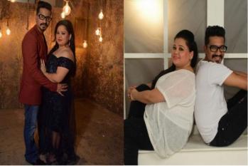کامیڈین بھارتی اور ان کے شوہر کو ہوئی یہ خطرناک بیماری، اسپتال میں داخل