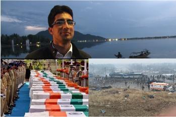 ...جموں۔کشمیر: پلوامہ حملے کے بعد بولے شاہ فیصل، کہا۔ کشمیر ایک قبرستان کی طرح