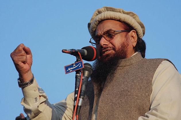 Hafiz Saeed, head of the banned Islamic charity Jamat-ud-