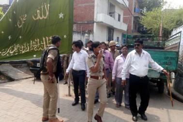 اس واقعہ نے لکھنو پولیس کے ذریعہ یوم عاشورہ پر سیکورٹی کے سخت انتظامات کے دعوں کی بھی پول کھول دی ہے۔