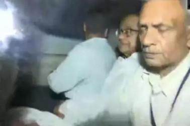 آئی این ایکس میڈیا معاملےمیں چدمبرم کوسی بی آئی نےکرلیا گرفتار