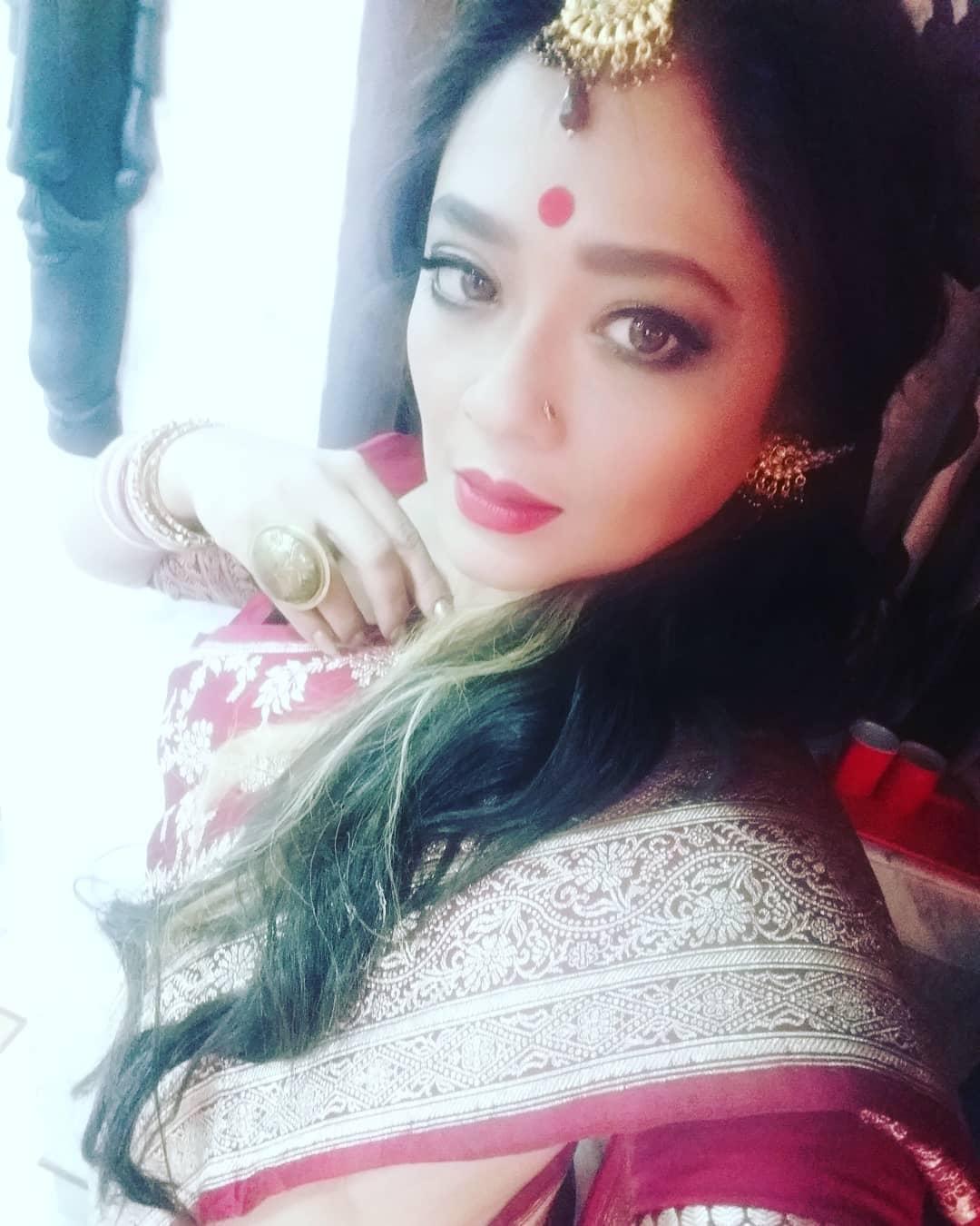 روپنجنا مترا بنگالی فلم کی مشہور اداکارہ ہیں ۔ فائل فوٹو ۔