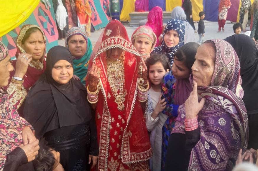 یاسمین انصاری کی صاحبزادی شبینہ انصاری کی شادی دو مہینے بعد ہونی تھی ۔